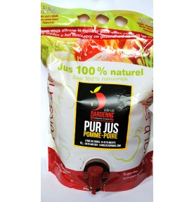 Jus de Pomme/Poire - Cubis 3L