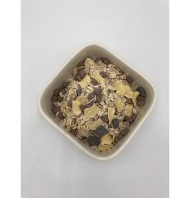 Muesli au chocolat noir